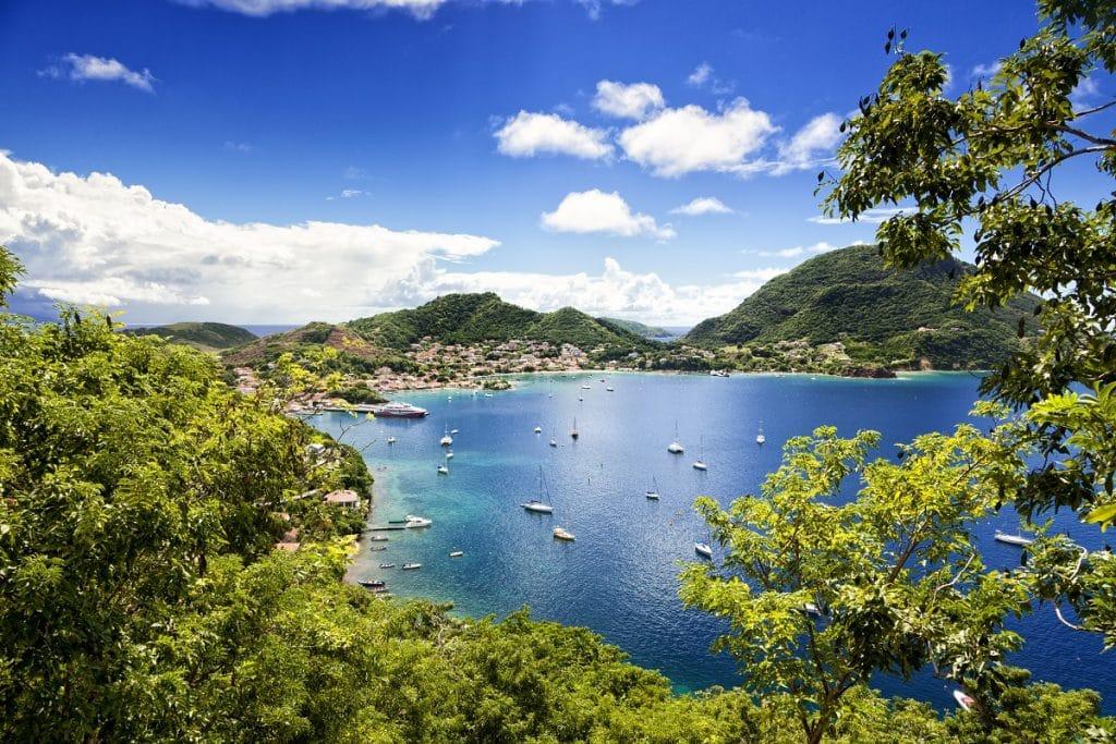 Visiter les îles de Terre-de-Bas et Terre-de-Haut